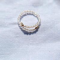 Crystal toe ring