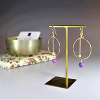 purpurite × mirror ball pierce