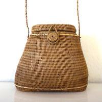 1930s Vintage  Straw Bag