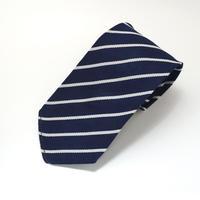 《送料無料》Tootal Polyester Stripe Navy Tie (no.328)