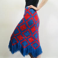 1970s Knitting Skirt