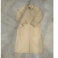 80's Eddie Bauer Stand Fall Collar Long Coat