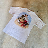 90's Woolrich  Dogs T-Shirt Made in USA