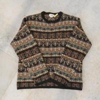 90's J.Crew Jacquard Wool Knit