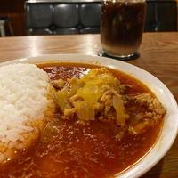 辣油とひき肉のカレー