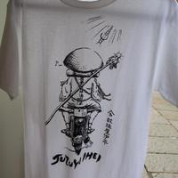 数珠屋バイクTシャツ
