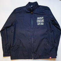 JUZUYAIHEIロゴ スウィングトップジャケット ネイビー