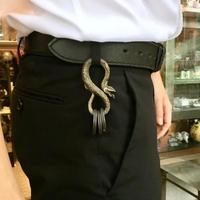 フックタイプのキーホルダー tattoo-snake keyfook[kinsfolk]