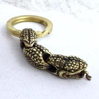 キーリングのキーホルダー tattoo-snake keyring[kinsfolk]
