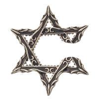 【即納可能!】アンティークヘキサグラムイヤーカフ (片耳分 )