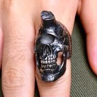 【即納可能!!サイズ#16号】  Cyclops Skull Ring