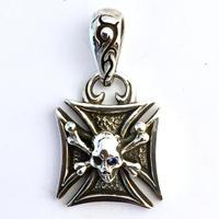 【即納可能!】Maltese Cross Pendant (Color eye)