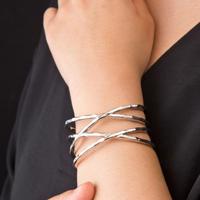 ワイドラップバングル[Elenore Jewelry]