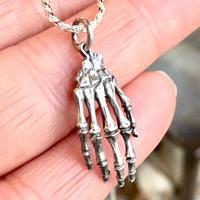 the  hand bone pendant-SV(ペンダントトップ)[human remains.]