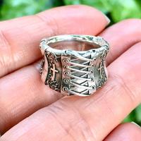 【即納可能!サイズ#7号】Corset Ring (コルセットリング)