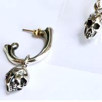 【即納可能!】Skull Charm Pierce[Atelier Shima]
