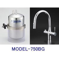 マルチピュアビルトイン型・グースネック型兼用水栓タイプ(MODEL-750BG)