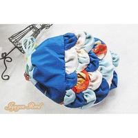 青い金魚の巾着バッグ