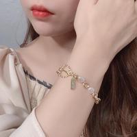 【即納】simple chain bracelet