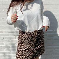 【即納】Leopard skirt