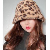 【即納】Leopard Bucket hat