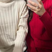 【即納】mochi Turtle knit