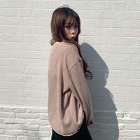 U neck Acrylic knit
