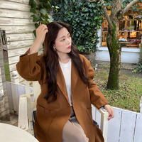 【即納】wool coat/Camel,Black