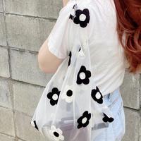 【予約】See-through flower eco bag