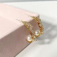 【即納】Point Pearl pierce