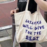 【即納】YOU THE BEST BIG TOTE BAG