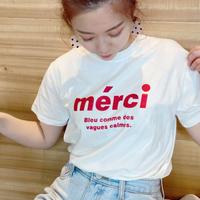 【即納】Basic logo Tshirt