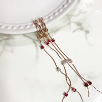 【イヤリング】long drop Earrings