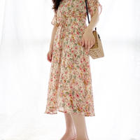 【予約】aline flower one piece