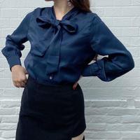 ribbon 2way blouse