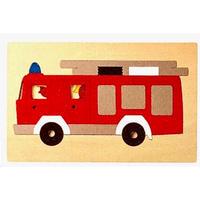2重パズル・消防車