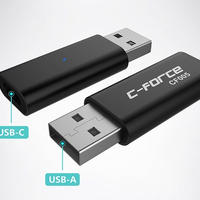 C-Force CF005 USB-C→USB-A/QC→PD変換アダプタ