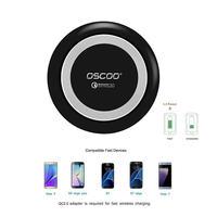 OSCOO BK-201 ワイヤレス充電台 Qi 2.0急速対応