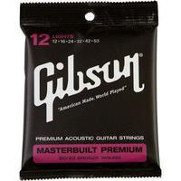 Gibson(ギブソン) / Masterbuilt Premium 80/20 Bronze SAG-BRS12 Light 12-53