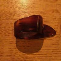 べっ甲ピック Tortoise Pick サム(L) Thumb Pick (Large)