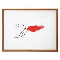 Print - La liberté (Wood Frame)