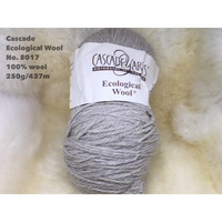 [Cascade] Ecological Wool - 8017(Platinum)