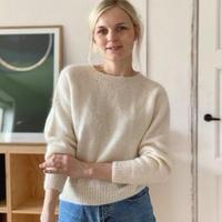 [K2tog] 翻訳編図付キット K21-009 No Frills Sweater (XS-S size)