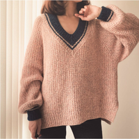 [K2tog] 編図付キット K20-046 Chilling Out Sweater (XS - L size)