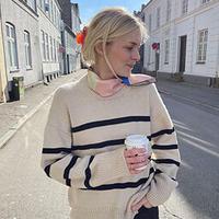 [K2tog] 翻訳編図付キット K21-020 Marseille Sweater (M-L size)