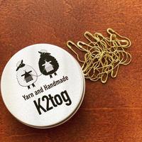 [K2tog] Original Tin M