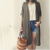 [K2tog] 翻訳編図付キット K21-007 Roving Summer Wrap (M size)