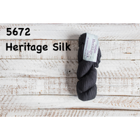 [Cascade] Heritage Silk - 5672(Real Black)