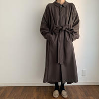 《Veritecoeur 》wool flannel one-piece
