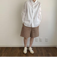 《YAECA》コンフォートシャツ ワイド